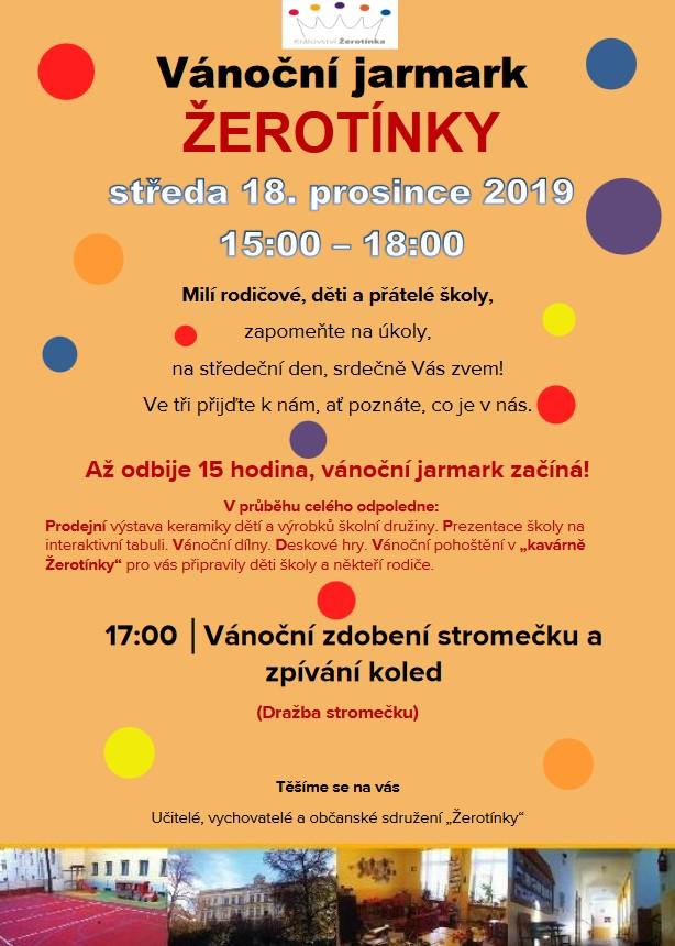 erotínka jarmark 2019 - Vánoční jarmark - Žerotínova