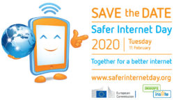 SID2020 Save the date no border 250x144 - Safer Internet Day 2020